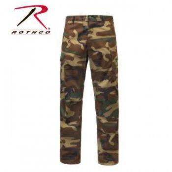 ロスコ Rothco Relaxed Fit Zipper Fly BDU Pants パンツ Woodland Camo ウッドランドカモ PANTS