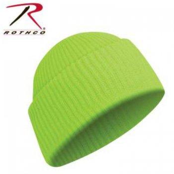 ロスコ Rothco Acrylic Watch Cap ニットキャップ SafetyGreen セーフティグリーン KNITCAP