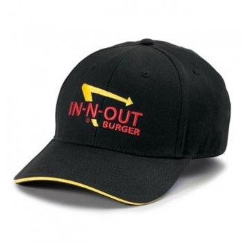 インアンドアウトバーガー In-N-Out Burger BLACK LOGO HAT キャップ BLACK ブラック CAP