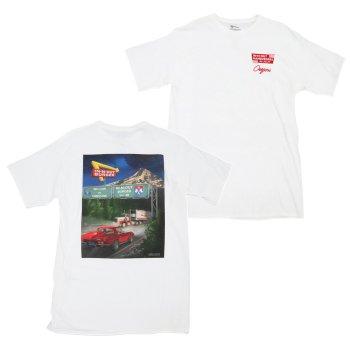 インアンドアウトバーガー In-N-Out Burger 2015 OREGON SHIRT Tシャツ WHITE ホワイト S/S T-SHIRTS