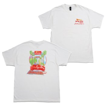 インアンドアウトバーガー In-N-Out Burger 1987 T-SHIRT Tシャツ WHITE ホワイト S/S T-SHIRTS