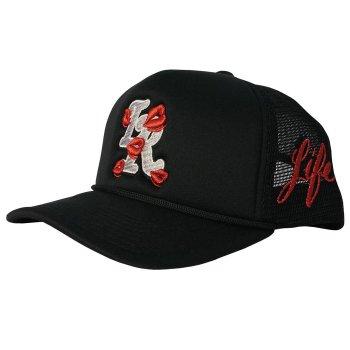ラ ロパ  LA ROPA Exclusive Trucker Hats キャップ FRUITY PEBBLE ブラック CAP