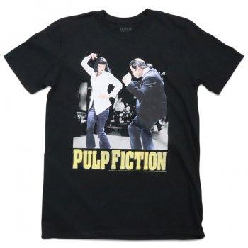 アメリカンクラシックス American Classics Pulp Fiction Dance Tee Tシャツ BLACK ブラック S/S T-SHIRTS