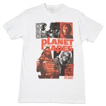 アメリカンクラシックス American Classics Planet Of The Apes Collage Tee Tシャツ WHITE ホワイト S/S T-SHIRTS