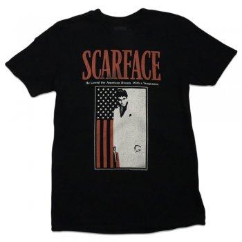 アメリカンクラシックス American Classics Scarfacewithflag Tee Tシャツ BLACK ブラック S/S T-SHIRTS
