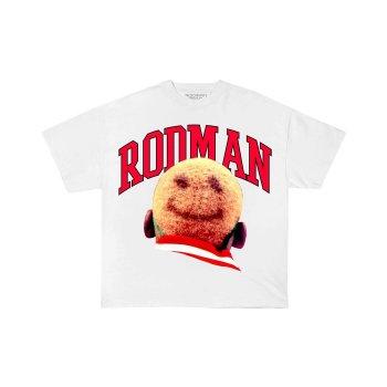 ロッドマンブランド RODMAN BRAND SMILE HEAD TSHIRT スマイルヘッドTシャツ WHITE ホワイト S/S T-SHIRTS