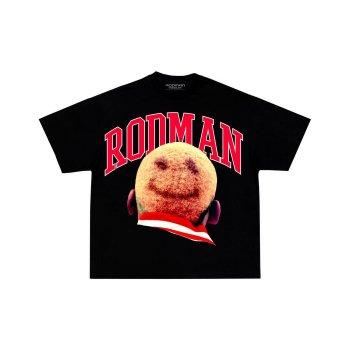 ロッドマンブランド RODMAN BRAND SMILE HEAD TSHIRT スマイルヘッドTシャツ BLACK ブラック S/S T-SHIRTS