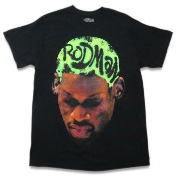 ロッドマンブランド RODMAN BRAND RODMAN HEAD GREEN TSHIRT ヘッドグリーンTシャツ BLACK ブラック S/S T-SHIRTS