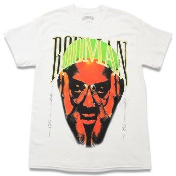 ロッドマンブランド RODMAN BRAND BARBWIRE GREEN TSHIRT バーブワイヤーグリーンTシャツ WHITE ホワイト S/S T-SHIRTS