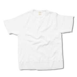 Chillax Sweat Tee (White)