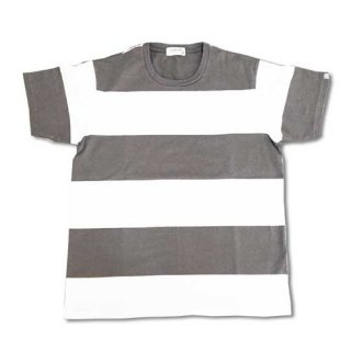 Chillax Border Tee (Gray)