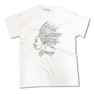 Chillax Native American Logo Tee