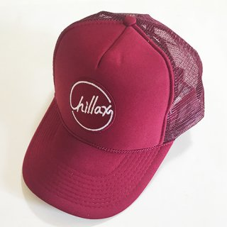 Chillax Mesh Cap (Burgundy)