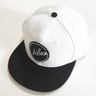 Chillax 2017 A/W Cap (White/Black)