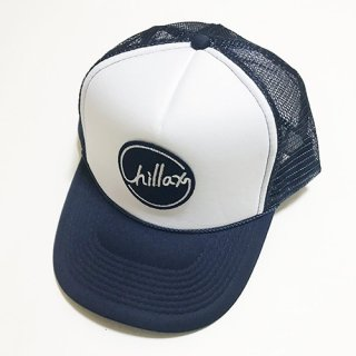 Chillax Mesh Cap (Navy/White)