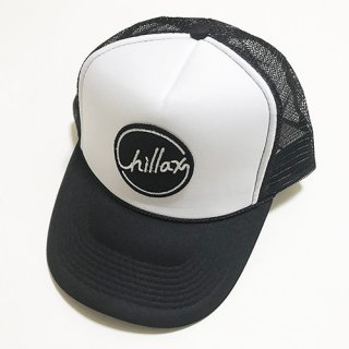 Chillax Mesh Cap (Black/White)
