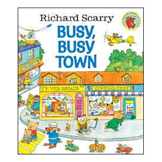 <img class='new_mark_img1' src='https://img.shop-pro.jp/img/new/icons62.gif' style='border:none;display:inline;margin:0px;padding:0px;width:auto;' />Richard Scarry's Busy, Busy Town