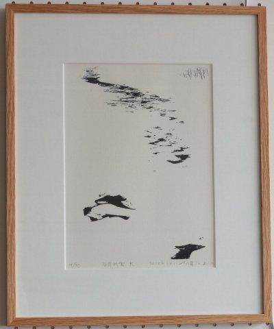 谷川新雪 K/富岡 惣一郎 (リトグラフ版画)