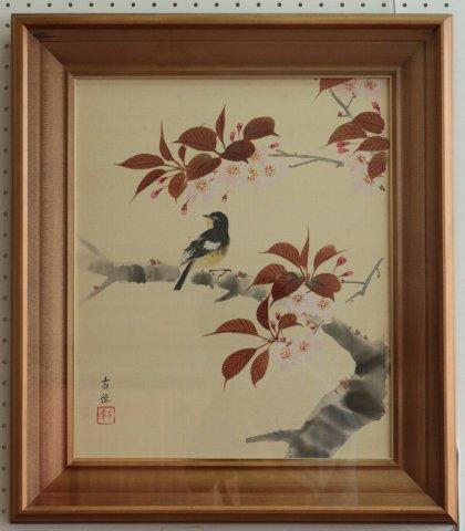 花鳥図 F8/小林古径 (工芸画)