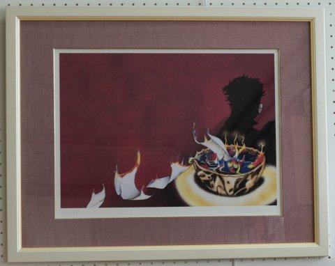 ハリー・ポッター 炎のゴブレット/Serena Reglietti(ジグレー版画)