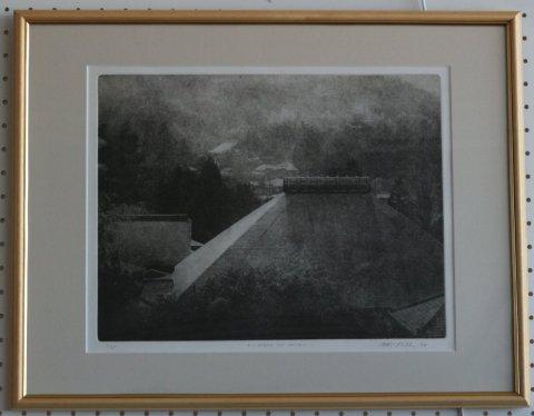 浄妙寺/ピーター・ミラー (銅版画)