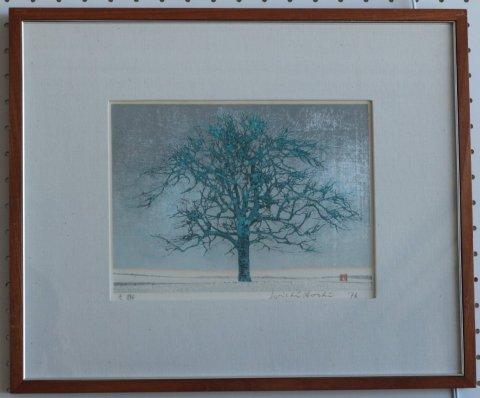 冬樹 (無限定版)/星襄一 (木版画)
