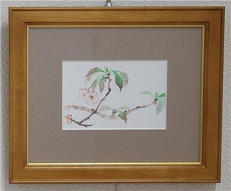 山桜/浦上義昭 (日本画)