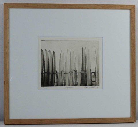 サーフボード/ピーター・ミラー (銅版画)
