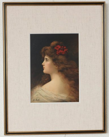 ベラ(BELLA)/アンジェロ・アスティ (銅版画)
