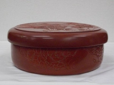 茶櫃/ 松谷  (村上堆朱・新潟県伝統工芸品)