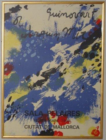 個展ポスター1980年マヨルカ島 /SARA PELAIRES /(リトポスター)