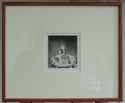 銅版画集《CARNIVAL》〜前夜祭/松崎滋 (銅版画)