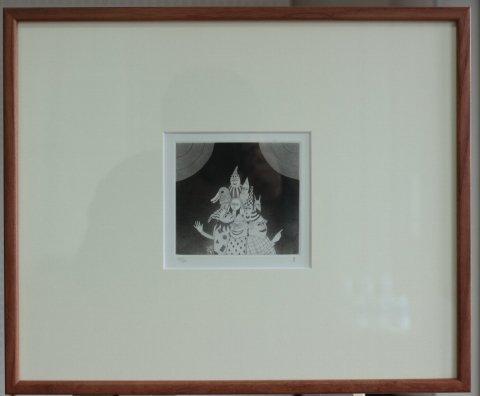 銅版画集《CARNIVAL》〜終幕/松崎滋 (銅版画)