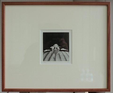 銅版画集《CARNIVAL》〜静かな日/松崎滋 (銅版画)