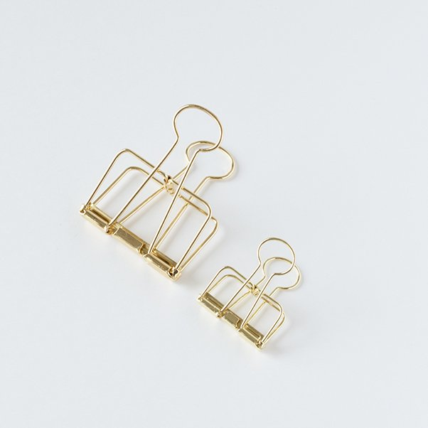 TOOLS to LIVEBY BINDER CLIP GOLD