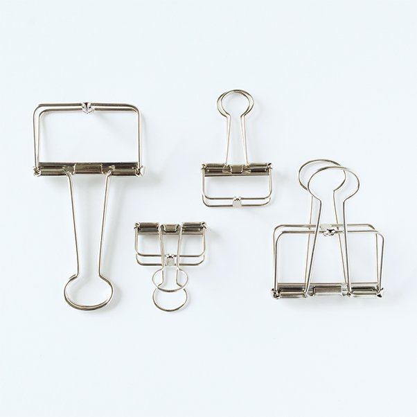 TOOLS to LIVEBY BINDER CLIP SILVER