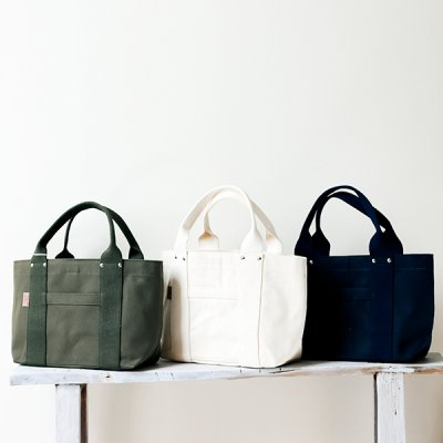 THREAD-LINE Heavy Canvas Tote Bag (S) -松野屋-