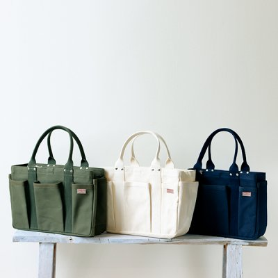 THREAD-LINE Heavy Canvas Tool Tote Bag (S) -松野屋-
