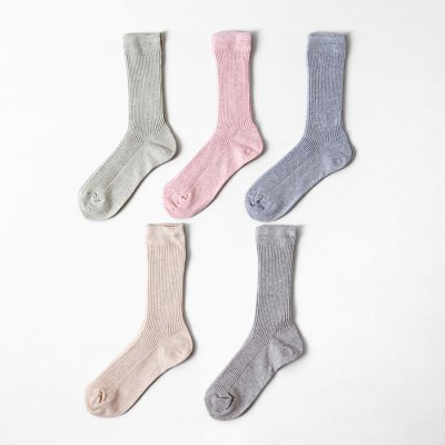 Organic cotton botanical dye Socks(22〜24cm)-YUiNO-
