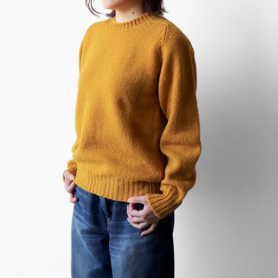 Wool Crew Neck Sweater -Jamieson's-