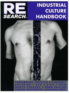 RE/SEARCH / #6/7 INDUSTRIAL CULTURE HANDBOOK BOOK
