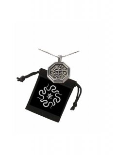 LOVE JESSE DESIGNS / PSYCHIC TV LIMITED EDITION SNAKES PENDANT