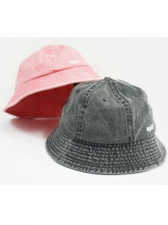 OBEY / DECADES BUCKET HAT 2カラー (PALE CORAL/BLK)