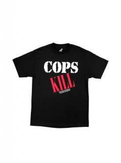 NATURE WORLD × PLEASURES / COPS KILL T-SHIRT