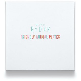 MARK RYDEN / FRIENDLY ANIMAL PLATES