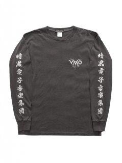 VMO × (K)OLLAPS NOISE PROJECT / KANJI LONGSLEEVE T-SHIRTS