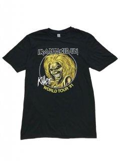 IRON MAIDEN /  KILLERS WORLD TOUR 81'
