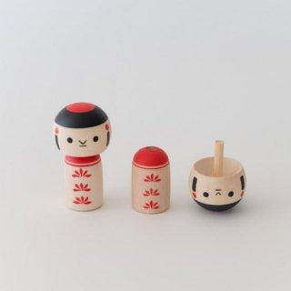こけし (逆立ちコマ) /飾りコマ 【在庫限り】残り1点