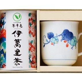伊万里焼マグカップと伊萬里茶セット /マグカップ【赤い果実】