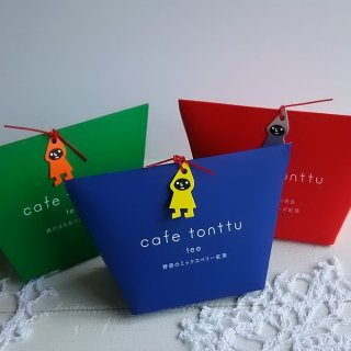 cafe tonttu tee 野原のミックスベリー紅茶(青)/ 5包入り